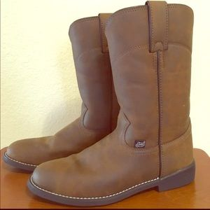 Brown Justin Boots